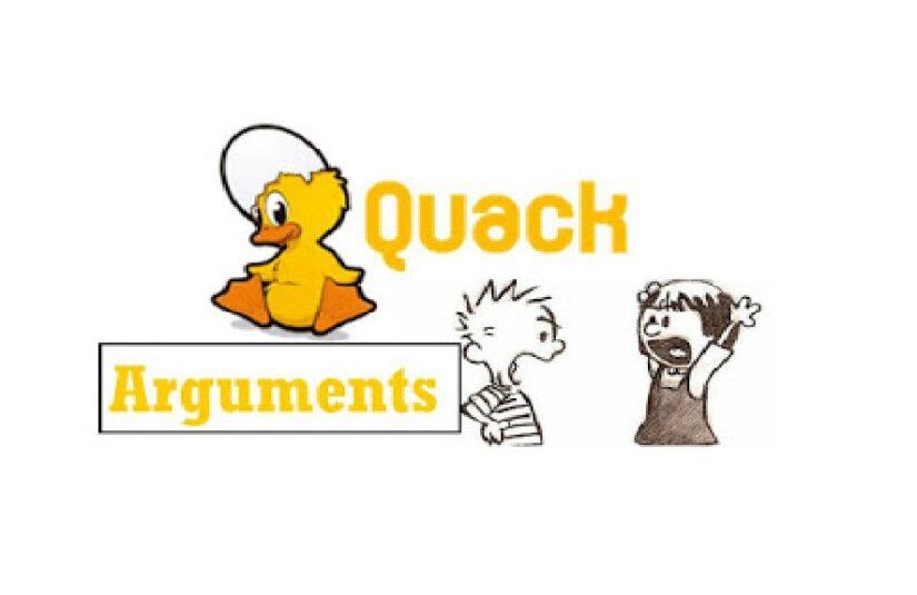 The Quack Arguments